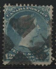Canada Scott #28 Used Large Queen Stamp