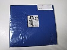 Pioneer 12 X 12 Blue Fabric Album with window -10 page protectors - white sheets