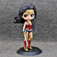 Superhero Figure Wonder Woman PVC Action Figure Collectible Model Toy 15cm