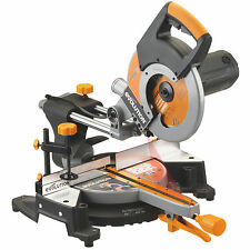 Evolution Rage3 + 255mm TCT Sliding Mitre Saw240V NEW EXTRA ACCESSORIES