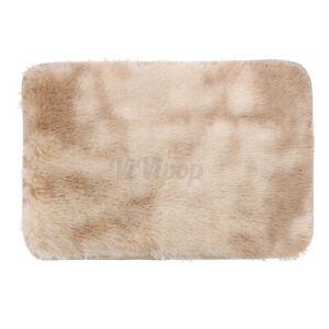 Shaggy Area Rug Carpet Anti-Slip Bedroom Living Room HallwayFloor Mat