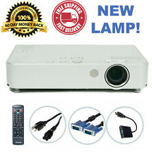 Panasonic PT-LB50NTU 3LCD Projector - New Lamp w/bundle TeKswamp