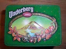 Werbe-Blechdosen Underberg