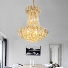 Modern Luxury Crystal Chandeliers Pendant Lamps Ceiling Fixtures Home Lighting