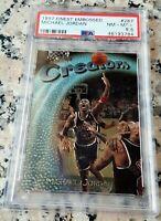 MICHAEL JORDAN 1997 Topps Finest RARE PSA 8.5 Chicago Bulls HOF 6 x Champion MVP