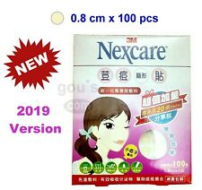 [2019 New] Nexcare ACNE CARE Patches / Stickers 1 packs - 100 pcs (0.8cm)