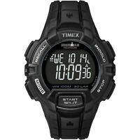 TIMEX IRONMAN MEN'S - BLACK CASE & GRAY ACCENTS - DIGITAL 30-LAP RUGGED T5K793