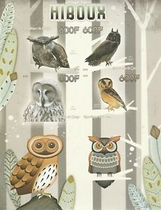 Owls Congo 2014 Mint 1820
