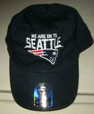 NEW ENGLAND PATRIOTS Official Locker Room Hat NWT 47 BRAND SUPER BOWL XLIX