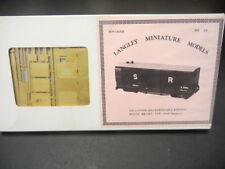 Langley H0e Bausatz Boxcar 00/9 ged. Güterwagen Lynton + Barnstaple Railway