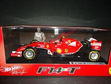 Hot Wheels Ferrari F1 F14 T 2014 Kimi Raikkonen BLY68 1/18