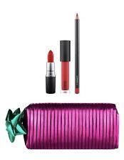 mac shiny pretty things Goody Bag : Red Lips Gift Set 100% Authentic