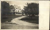 Home - North Chatham NH Cancel - Charlestown NH Written on Back RPPC