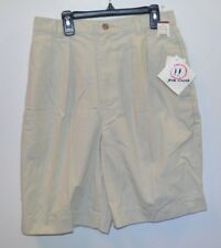 Women's 100% Cotton Pleated Shorts, Juniors Size 10/12, by She Knows, Color Sand