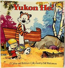 """YUKON HO!"" (a CALVIN & HOBBES Collection, 1992, Softcover) by BILL WATTERSON"
