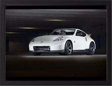 """2014 NISSAN 370Z NISMO A3 FRAMED PHOTOGRAPHIC PRINT POSTER 15.7"""" x 11.8"""""""