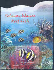 SOLOMON ISLANDS 2012 REEF FISH  SOUVENIR SHEET
