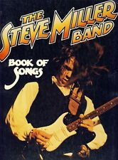 Steve miller band-Book of songs-texte Livre-chanson Guitar Book-NEUF