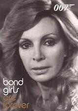 """James Bond In Motion - BG55 """"Cassandra Harris"""" Bond Girls Chase Card"""