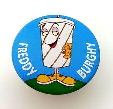 """""""BURGHY"""" SPILLA FREDDY BURGHY FAST FOOD VINTAGE AMERICA ANNI 80 PREPPY PANINARO"""