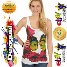 L LARGE DESIGUAL WOMEN TS CELIA CIRQUE DU SOLEIL TOP SHIRT DRESS 30T2C10 1000