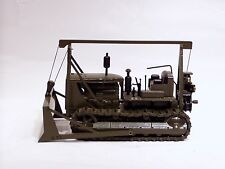 "Caterpillar D7 Cable Dozer - ""MILITARY GREEN"" - NZG #386 - 1/25 - No Box"