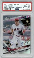 2017 Topps Chrome Mike Trout #200 Refractor PSA 10 Gem Mint Angels