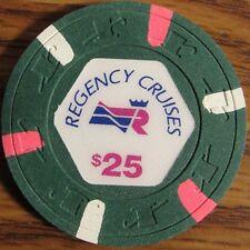Vintage Regency Cruises $25 Casino Poker Chip - Miami, FL Florida
