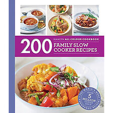 200 Family Slow Cooker Recipes Book Hamlyn All Colour Cookbook by Sara Lewis
