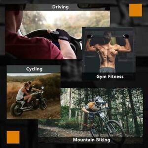 Women Men Sport Cycling Fitness Workout Exercise Half Gloves New. Finger K2U8