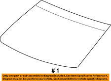 CHRYSLER OEM-Windshield Glass 68067654AB