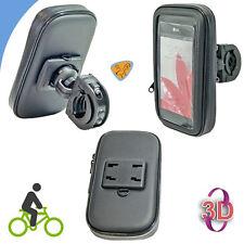 Supporto moto bici mountain bike borsa IMPERMEABILE per LG G3 D855 Made in Eu