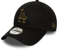 LA Dodgers New Era 940 Essential Black Baseball Cap