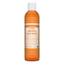 DR BRONNER'S Citrus Organic Hair Rinse 237ml Bronners shikakai conditioner