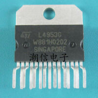 1PCS  ST L4953G ZIP-15 MULTIFUNCTION VOLTAGE REGULATOR FOR CAR IC