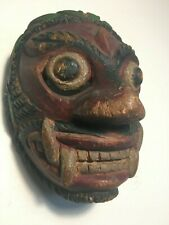 New ListingAntique, Ethnographic, Danced w/Patina Java Indonesia Javanese Topeng Dance Mask