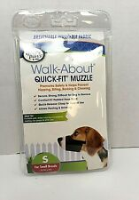 Four Paws Walk-About Quick Fit Dog Muzzle,Small Breeds, New in Package