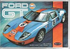 Polar Lights 2006 Ford GT Gulf Heritage Race Car in 1/25 955, 'SNAP IT' KIT  ST