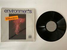 """Environments """"Disc 4"""" 1974 vinyl LP Condition Excellent"""