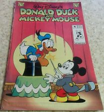 Donald Duck and Mickey Mouse 4, NM- (9.2)