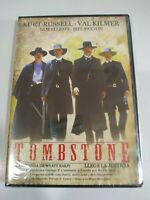 Tombstone Wyatt Earp Kurt Russell Kilmer DVD Regione All Spagnolo Inglese Nuovo