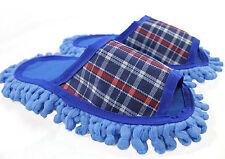 Staubtuch Hausschuhe Putz Hausschuhe Mop Schuhe Sohle Mikrofasser Gr.37-39  R162