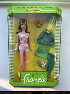 Vintage Barbie Cousin Francie 30th Anniversary 1996 Reproduction NEW NRFB #14608