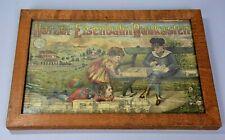 More details for early german toy advertisement, harzer eisenbahn baukasten, railway train set
