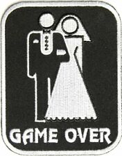 Game Over Marriage Patch Medium - By Ivamis Trading - 3x3.75 inch P3165