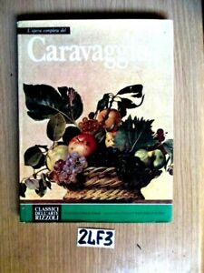 CLASSICI DELL'ARTE RIZZOLI CARAVAGGIO  (24F3
