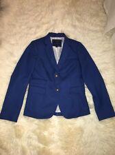 NWOT J Crew Classic Schoolboy Blazer Jacket Teal Blue Sz 6  $198 #43714
