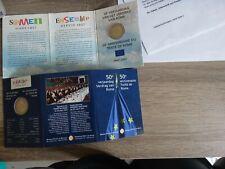 2 Euro Gedenkmunze BELGIEN 2007 Coincard : 50 Jahre Römische Verträge