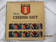 Vintage 1970 Hasbro Chess Set No 6118 Sealed Chess Parts Board Game Complete