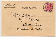 Österreich 1902 10h AUSLANDSKARTE, ALT-AUSSEE nach S.Wels